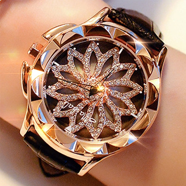 Watches, blingblingwatch, realleatherwatch, Jewelry