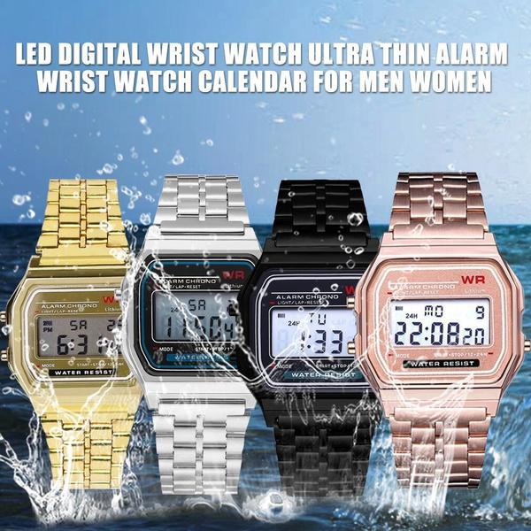 Steel, leddigitalwatch, smartdigitalwatch, led