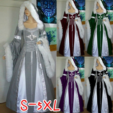 gowns, GOTHIC DRESS, Fashion, Medieval