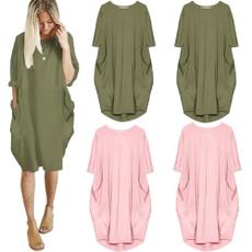 Shorts, tunic, short dress, Sleeve