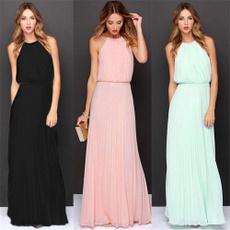 Sleeveless dress, summer dress, chiffon, chiffon dress