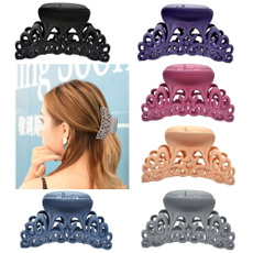 Hollow-out, hairclamp, hairclaw, hairdre