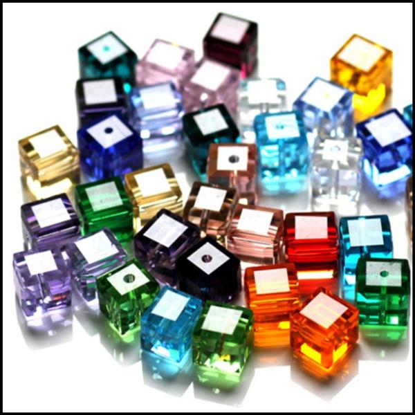 cube, Jewelry, Jewelry Making, Glass