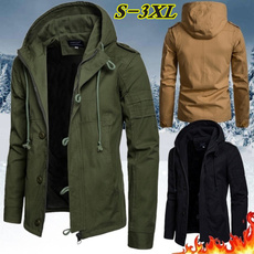 hooded, drawstringhoodie, Coats & Outerwear, mens tops