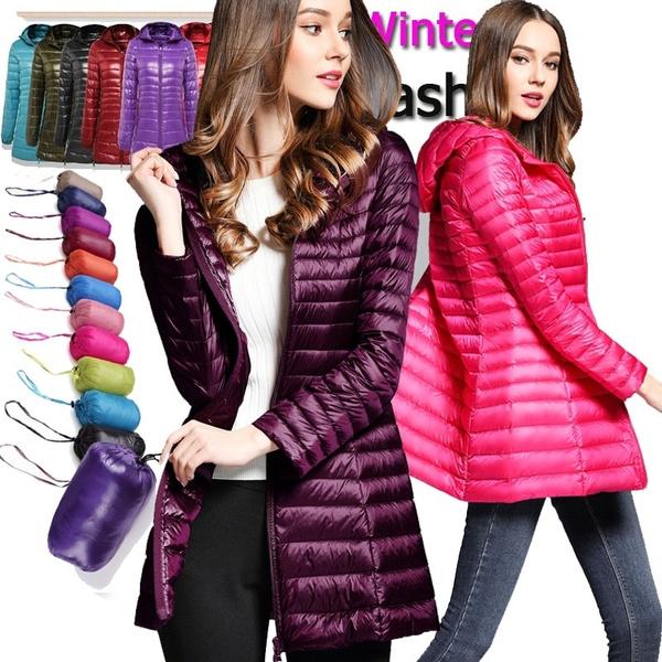 women winter clothes, hooded, Coat, Winter