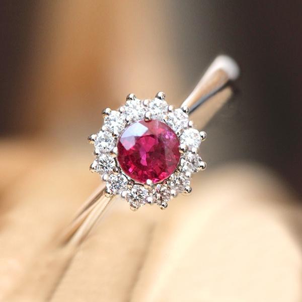 Fashion, Women Ring, 925 silver rings, Crystal
