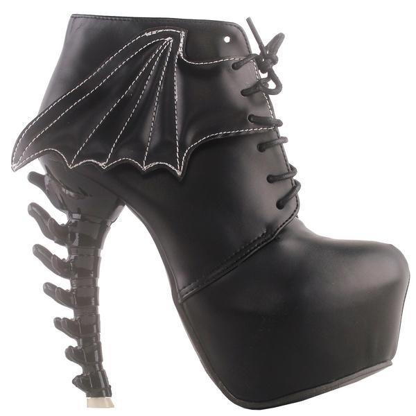 ankle boots, Lace, Boots, punk