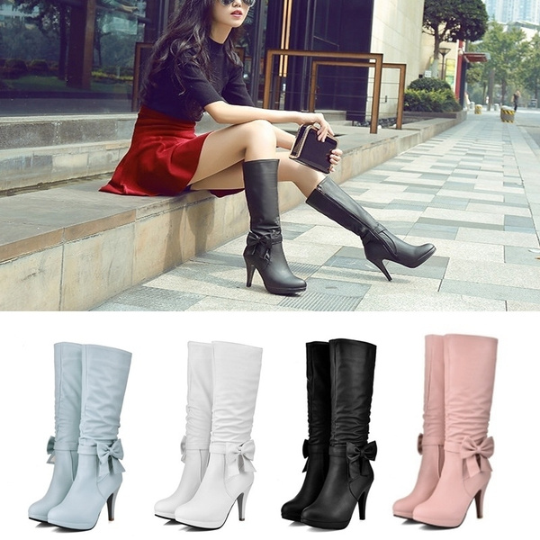 pink, Blues, Woman, Boots