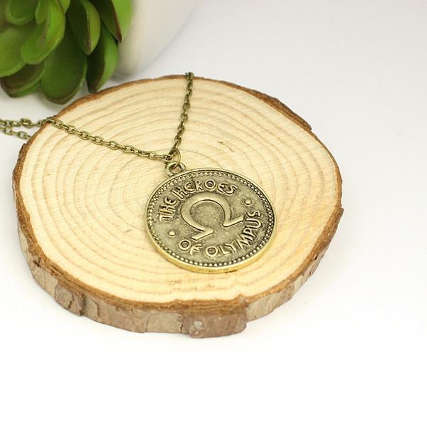 percyjackson, Necklaces Pendants, Jewelry, gold