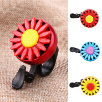 Funny Bicycle Bell Horns Bike Daisy Flower Children Girls Cycling Ring Alarm.