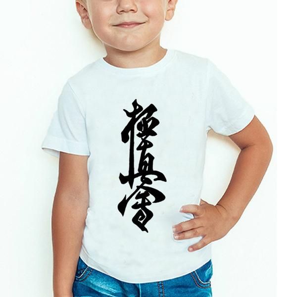 short sleeves, Boy, kyokushinkarate, Shorts