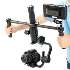 Grip, extended, dualhandheldgimbal, cameraholder