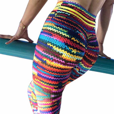 hightwaist, hippant, Knitting, Colorful