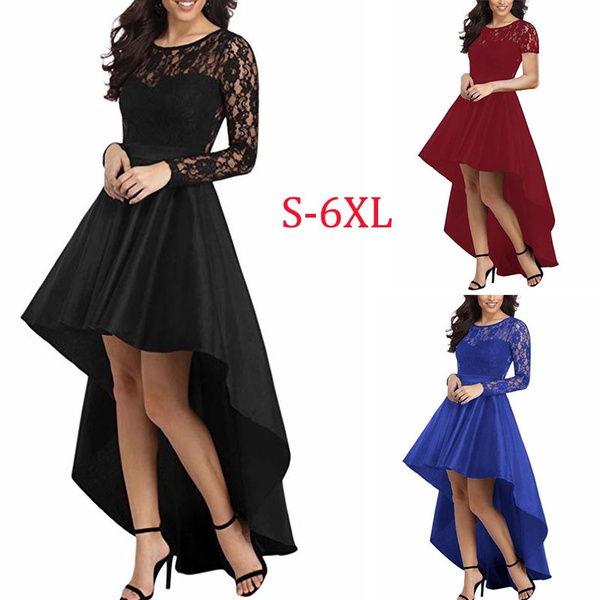 Lace Dress, Lace, Cocktail, Long Sleeve