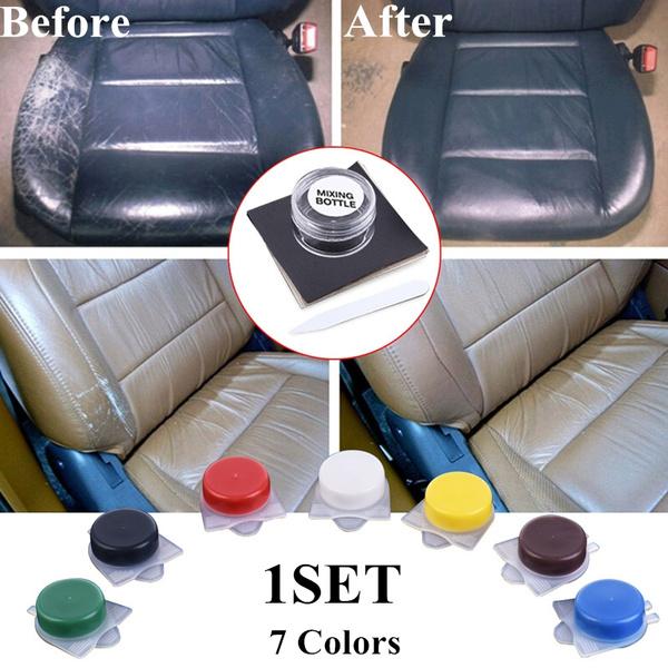 Liquid Skin Leather Auto Car Seat Sofa, How To Fix Large Tear In Leather Car Seat