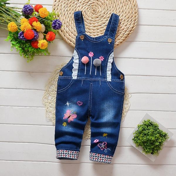 trousers, kids clothes, Spring/Autumn, dungaree