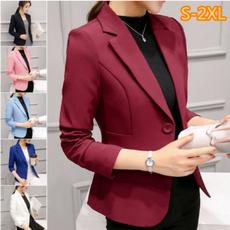 Moda, Blazer, Office, Coat