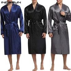 pajamaset, nightwear, Bathrobe, Nightgown