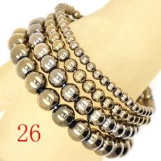 8MM, Yoga, pyrite, Bracelet