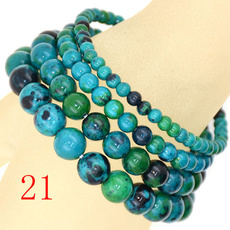chrysocolla, 8MM, Yoga, Jewelry