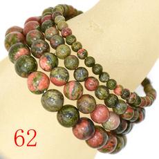 8MM, Yoga, Jewelry, unakite