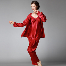 pink, pajamaset, sleepwearsuit, Lace