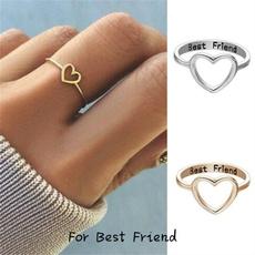 friendgift, bestfriendsring, Fashion, hollowring