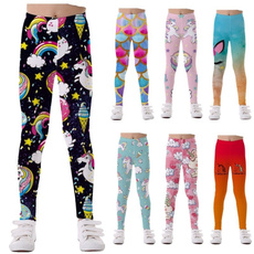 unicornprint, Leggings, rainbow, strectchpant