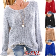 women pullover, Plus Size, sweaters for women, Sleeve