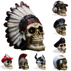 humanskull, decorativestatue, skull, thewholeperson