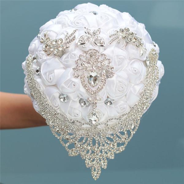 Wedding Supplies, Rhinestone, Bouquet, Bridesmaid