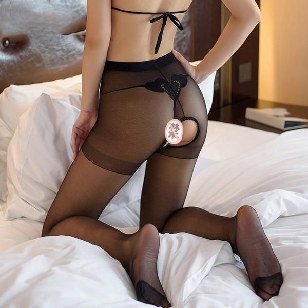 sexystocking, silk stockings, blacklacestocking, opencrotchpantyhose