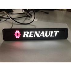 car led lights, Emblem, renault, Cars