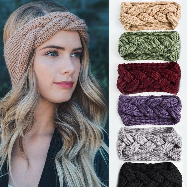 knittedhairband, bowknot, Fashion, hairornament