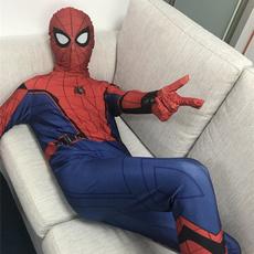 Cosplay, spidermancostume, Spandex, Spiderman