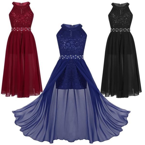 gowns, Flowers, halter dress, Lace