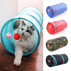 Funny, cattoy, cattunnel, folding