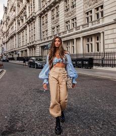 Women Pants, pencil, elastic waist, coolpant