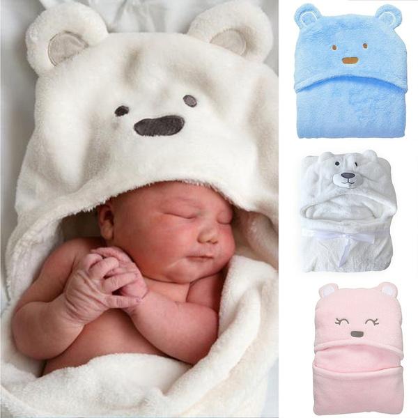 cartoonbabykidsnewbornhoodedbathrobe, hooded, Towels, babybathrobe