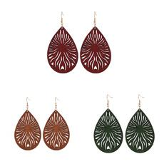 fashion women, earringgift, woodenearring, Gifts