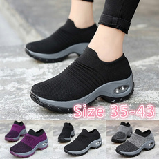 casual shoes, wedge, Sneakers, Outdoor