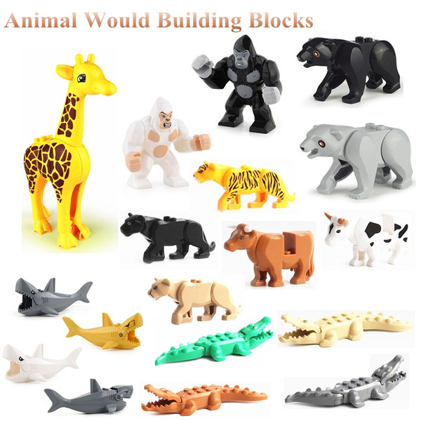 animalblock, Toy, cow, figure