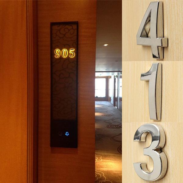addressplaque, digitalnumberplate, house, 3dnumber