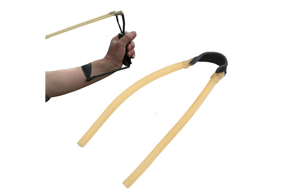 Elastic Bungee Rubber Band for Slingshot Catapult Outdoor Hunting Yellow KTP