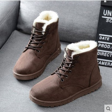 ankle boots, Outdoor, fur, Winter