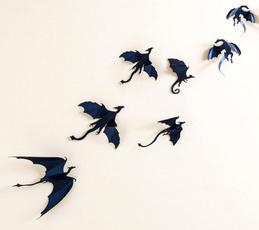 Goth, Wall Art, Home Decor, Stickers