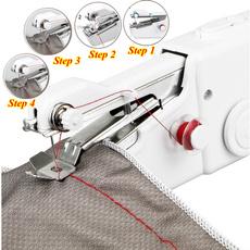 sew, Mini, handheldsewingmachine, electricsewingmachine
