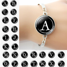 Charm Bracelet, Fashion, Bracelet, glasscabochon