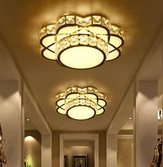 Kitchen, ceilinglighting, Flowers, ceilinglamp