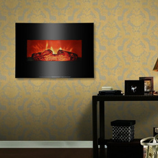 indoorfireplace, Wall Mount, heatingampcooling, Electric